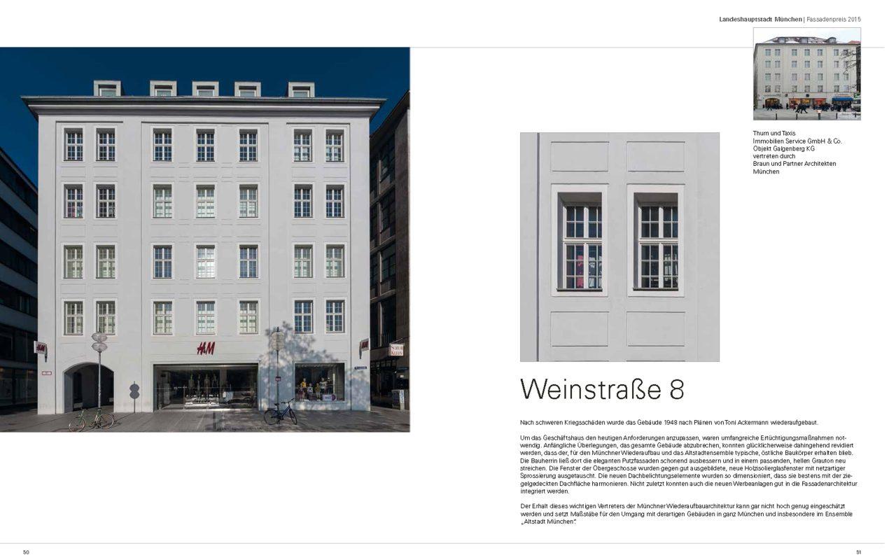 Fassadenpreis und Preis für Stadtbildpflege